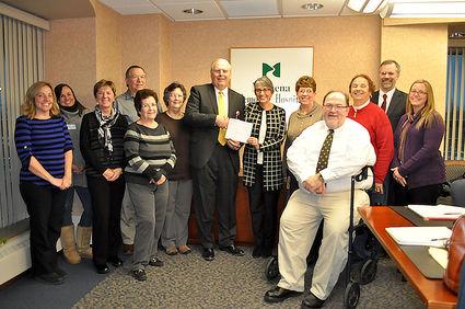 MMH Foundation Donates $47,636 to Massena Memorial - Indian Time