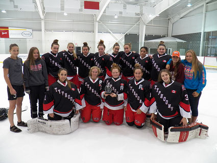The Cornwall Typhoons Midget Aa Girls Took Home Silver From The